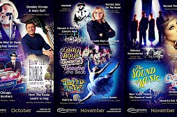 Newark Palace Theatre Poster Designs