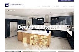 Crown Homeworks Website Design
