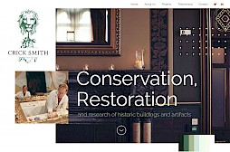 Crick Smith Conservation & Restoration Website
