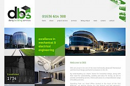 Derry Building Services Website