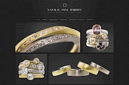 Natalie Jane Harris Contemporary Jeweller Website