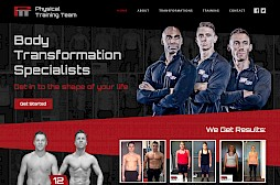 Physical Training Team Website